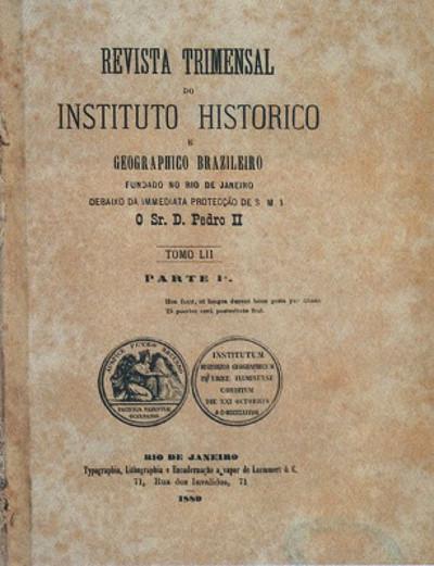 O principal veículo de propagação das ideias do IHGB era a sua revista