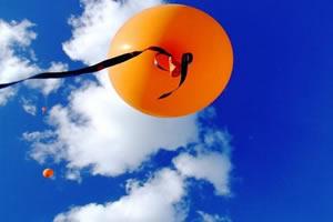 Gás Hélio: gás usado em balões.