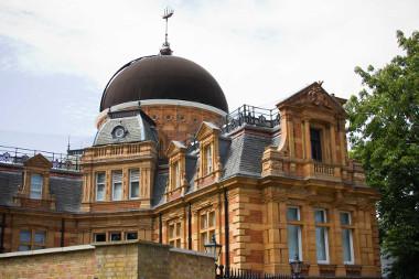 Observatório Real de Greenwich, o ponto de referência para o principal meridiano da Terra