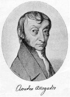 Os trabalhos de Amedeo Avogadro contribuíram para a definição de mol e do valor da constante de Avogadro