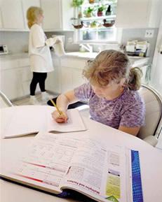 Tarefa de casa: O resultado no desempenho escolar.