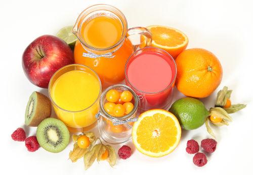 O suco de frutas com pouca adição de água é um exemplo de solução concentrada