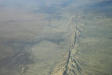 Falha Geológica de San Andreas *