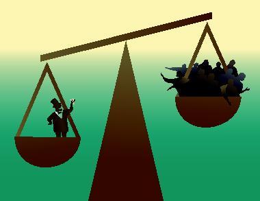 O coeficiente de Gini mede a desigualdade e a concentração de renda no mundo