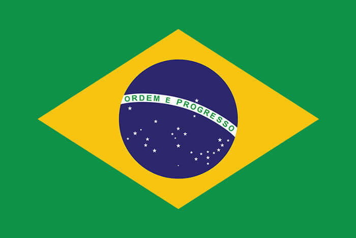 A atual bandeira do Brasil foi implantada logo após a Proclamação da República, que aconteceu em 1889.