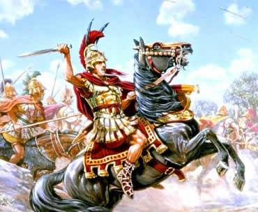 Alexandre, o Grande, empreendeu a formação do Império Macedônico.