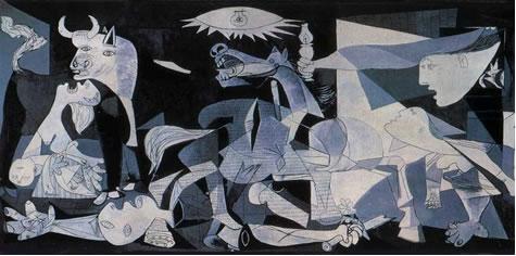 """64677c17e8de0 A leitura da obra """"Guernica"""", de Picasso, para o estudo da história ..."""