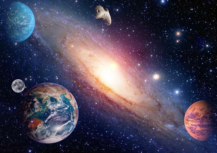 As unidades astronômicas são utilizadas para as medidas de distâncias feitas no Universo