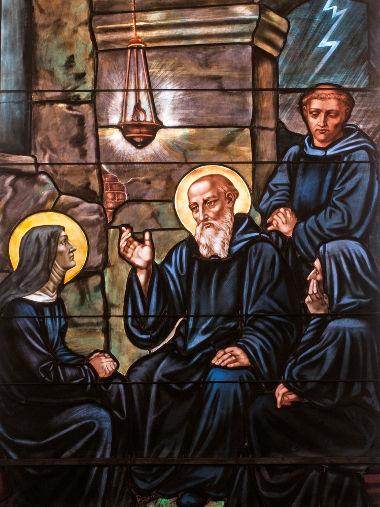 São Bento de Núrsia foi responsável por um dos principais dispositivos de disciplina monástica da Idade Média