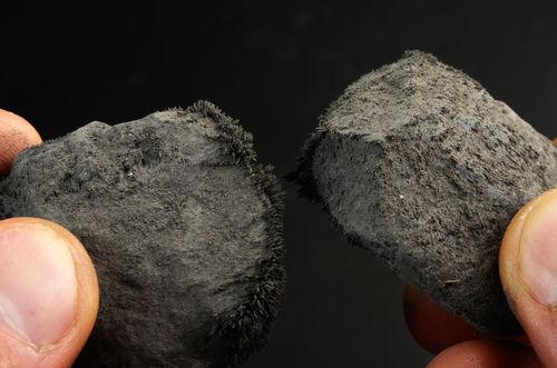 A magnetita é um minério compostos pelo óxido duplo Fe3O4