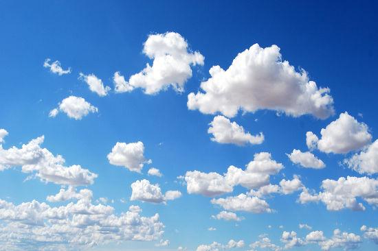 Determinadas nuvens podem ter o peso de até 100 elefantes