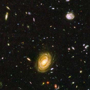 A composição do Universo