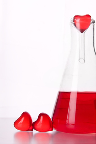 A química explica o que sentimos quando estamos apaixonados.