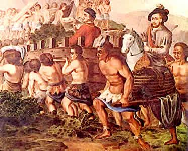 A encomienda foi uma das modalidades de trabalho mais empregadas na América Hispânica.