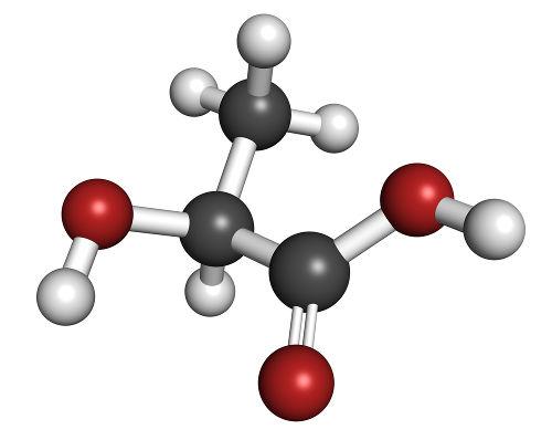 O ácido lático apresenta isômeros opticamente ativos