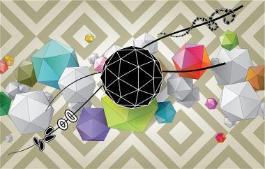 Formas e sólidos geométricos presentes no espaço