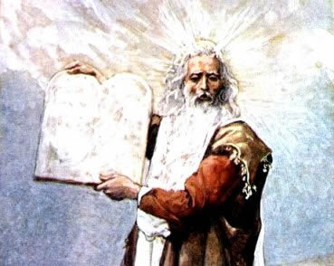 Moisés e a Lei Mosaica: episódio fundador central na identidade cultural e religiosa dos hebreus.