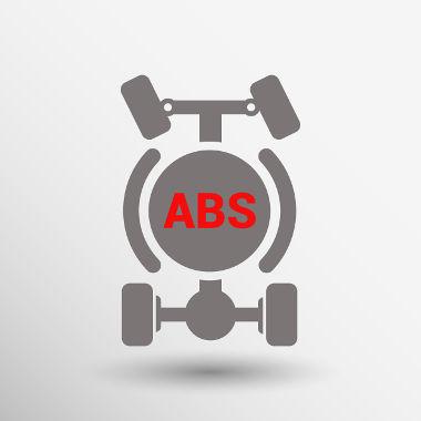 Os freios ABS evitam o travamento das rodas, impedindo o deslizamento do veículo