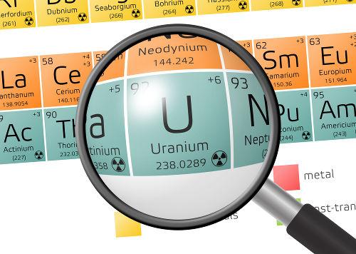 Os elementos transurânicos possuem número atômico maior que o do Urânio