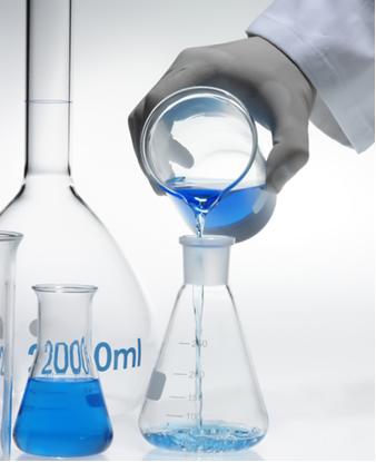 A prática da diluição de soluções é muito comum em laboratórios