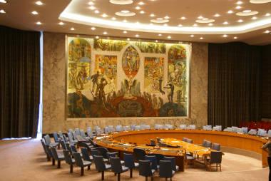 Espaço de realização do Conselho de Segurança das Nações Unidas, em Nova York (EUA)