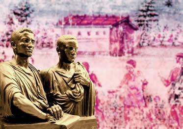Os irmãos Graco tentaram modificar o modelo de distribuição de terras na Roma Antiga.