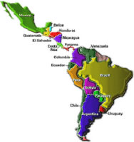 Os países latinos sofrem para pagar dívidas externas.