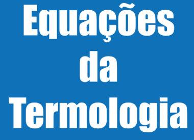 A Termologia é a parte da Física que estuda a temperatura e o calor