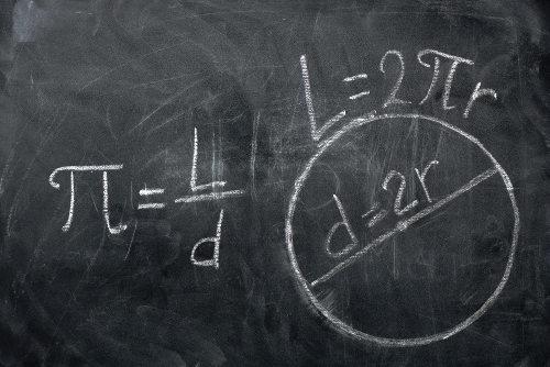 Demonstração do primeiro método usado para encontrar uma aproximação de pi