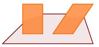 Retângulo, paralelogramo e trapézio