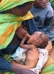 Imagens registradas no norte do Sudão