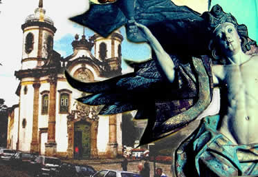 O barroco teve grande importância no reforço dos valores religiosos disseminados no Brasil Colonial.