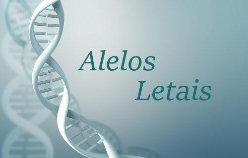 Os alelos letais causam a morte de seu portador