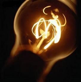 Efeito joule na lâmpada incandescente