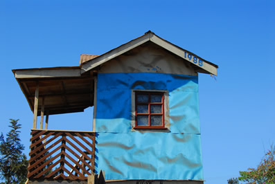 Casa de ferro na África