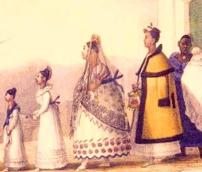O papel desempenhado pela mulher na colônia não se restringe à dominação.