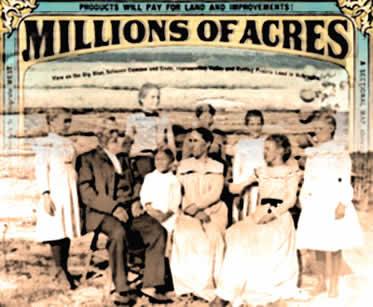 """O """"Homestead Act"""" favoreceu a criação de pequenas propriedades a Oeste dos Estados Unidos."""