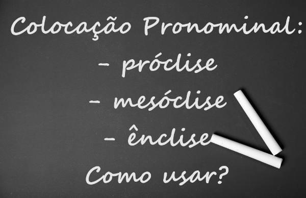 A colocação pronominal determina a posição ocupada pelos pronomes oblíquos átonos em relação ao verbo