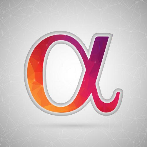 Alfa é o símbolo utilizado para representar o grau de ionização dos ácidos