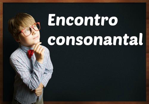 Os encontros consonantais são sequências de consoantes juntas na mesma palavra