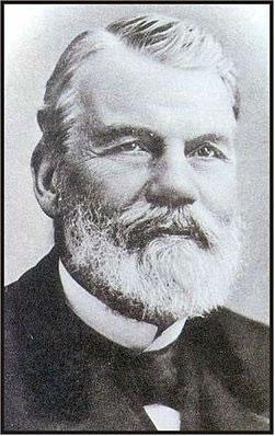 Imagem do cientista francês François Marie Raoult (1930-1901), que estudou as propriedades coligativas e criou a famosa lei que leva seu nome