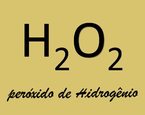 Exemplo clássico da nomenclatura de um peróxido