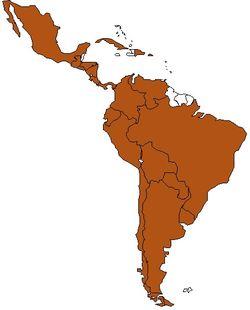 Os países que compõe a América Latina