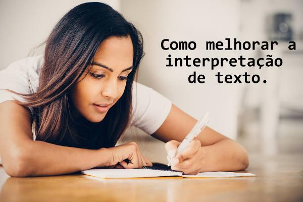 A interpretação textual está relacionada ao desenvolvimento da competência leitora