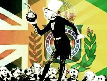 William Christie em charge que o coloca no centro da crise diplomática entre Brasil e Inglaterra.