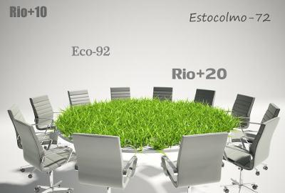 As conferências sobre o meio ambiente reuniram os principais líderes mundiais
