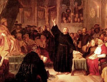 A Reforma Luterana promoveu a criação de uma nova denominação cristã na Europa.