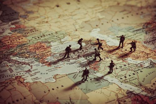 A Primeira Guerra árabe-israelense ocorreu na segunda metade da década de 1940