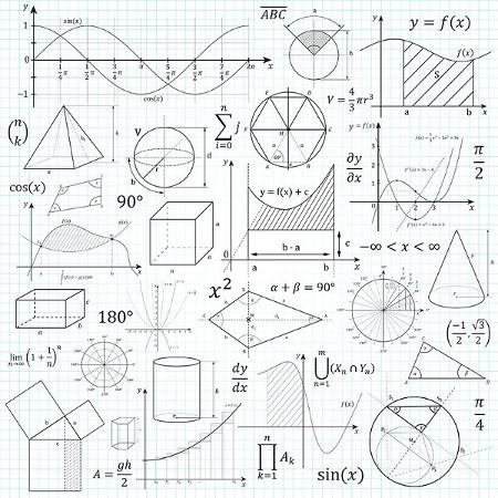 A quantidade de dimensões define e diferencia as figuras planas e espaciais