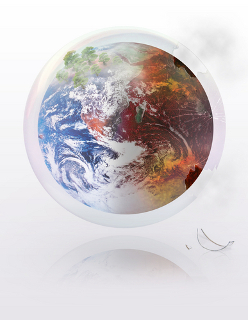 Substâncias como os CFCs emitidos por meio de atividades humanas causam danos em larga escala para a camada de ozônio e influenciam o clima global